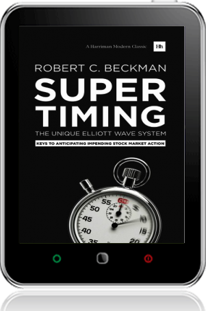 Cover of Supertiming: The Unique Elliott Wave System on Tablet by Robert C. Beckman