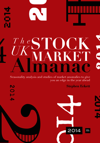Cover of The UK Stock Market Almanac 2014 by Stephen Eckett