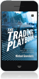 Cover of The Trading Playbook on Mobile by Michael Gouvalaris