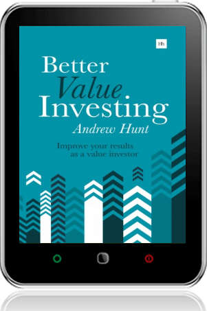 Cover of Better Value Investing on Tablet by Andrew Hunt
