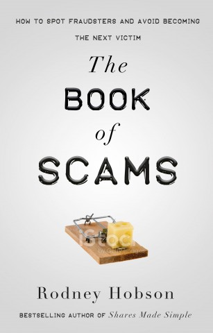 Cover of The Book of Scams by Rodney Hobson