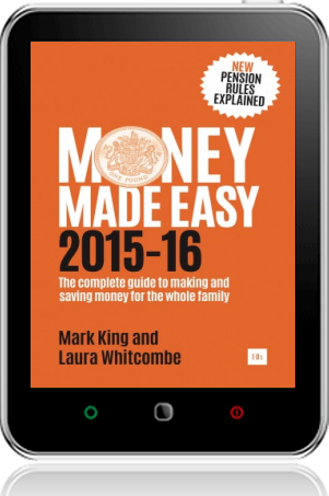 Cover of Money Made Easy 2015-16 on Tablet by Mark King andLaura Whitcombe