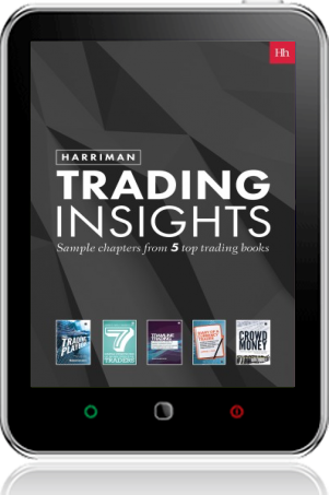 Cover of Harriman Trading Insights on Tablet by