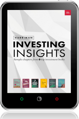 Cover of Harriman Investing Insights on Tablet by
