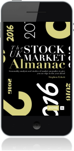 Cover of The UK Stock Market Almanac 2016 (Mobile Phone)