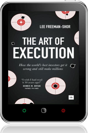 Cover of The Art of Execution on Tablet by Lee Freeman-Shor