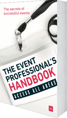 Cover of The Event Professionals Handbook by