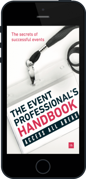 Cover of The Event Professional's Handbook (Mobile Phone)