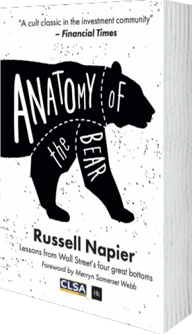 Cover of Anatomy of the Bear (Hardback) by Russell Napier