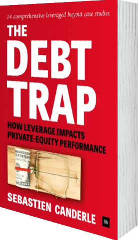 Cover of The Debt Trap by Sebastien Canderle