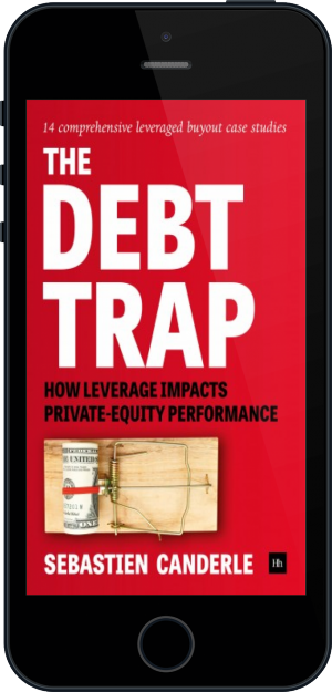 Cover of The Debt Trap on Mobile by Sebastien Canderle