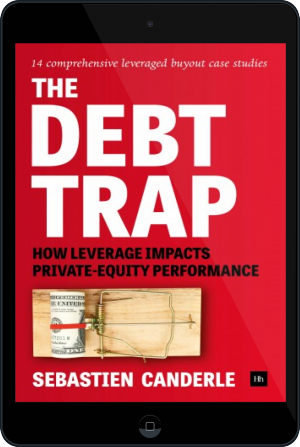 Cover of The Debt Trap on Tablet by Sebastien Canderle