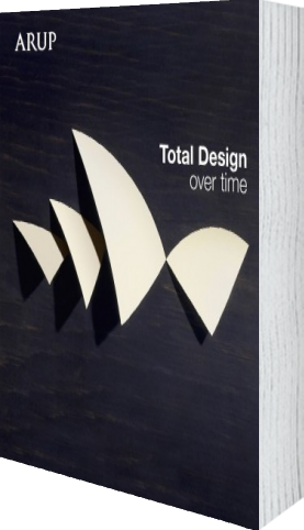 Cover of Total Design Over Time (Hardback) by Arup