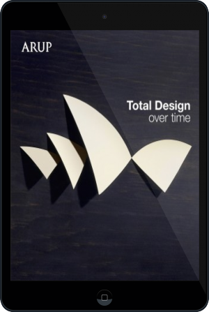 Cover of Total Design Over Time on Tablet by Arup
