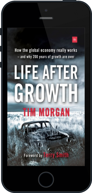 Cover of Life After Growth (Paperback) on Mobile by Tim Morgan