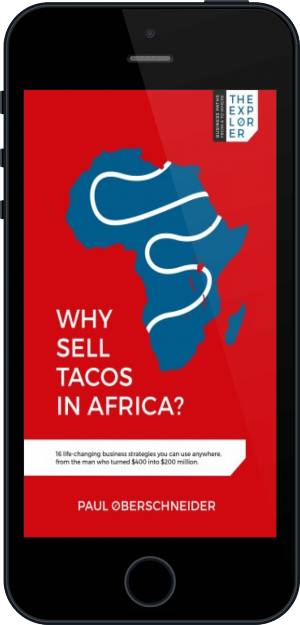 Cover of Why Sell Tacos in Africa? on Mobile by Paul Oberschneider