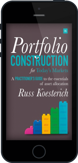 Cover of Portfolio Construction for Today's Markets on Mobile by Russ Koesterich