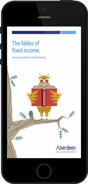 Cover of The Fables of Fixed Income on Mobile by