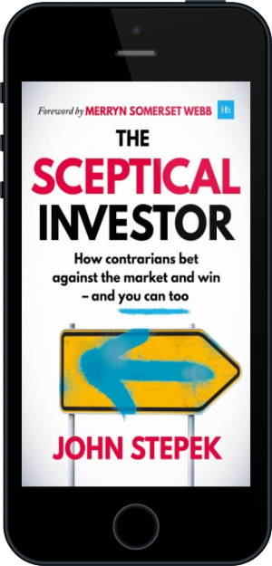 Cover of The Sceptical Investor (Mobile Phone)