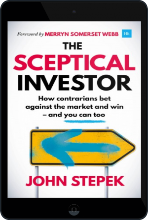 Cover of The Sceptical Investor (Tablet)