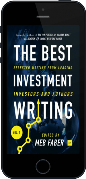 Cover of The Best Investment Writing on Mobile by Meb Faber