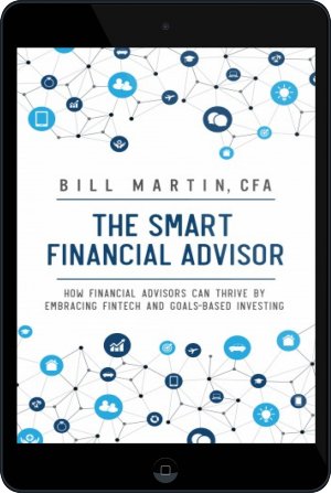 Cover of The Smart Financial Advisor on Tablet by Bill Martin CFA