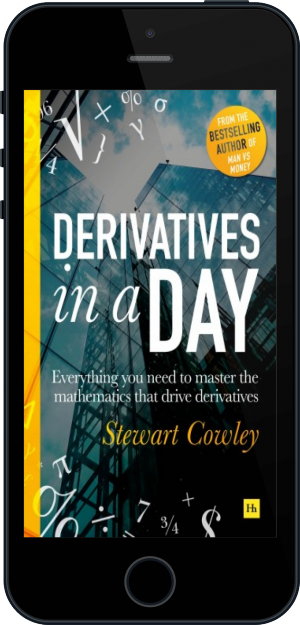 Cover of Derivatives in a Day on Mobile by Stewart Cowley