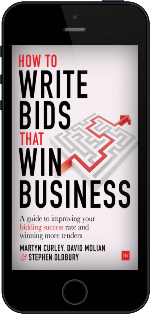 Cover of How to Write Bids That Win Business on Mobile by David Molian, Martyn Curley and Stephen Oldbury