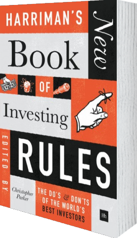 Cover of Harriman's NEW Book of Investing Rules by Christopher Parker