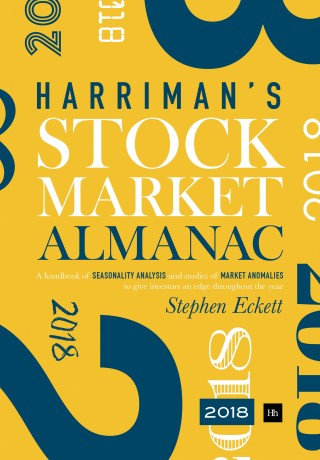 Cover of The Harriman Stock Market Almanac 2018 by Stephen Eckett