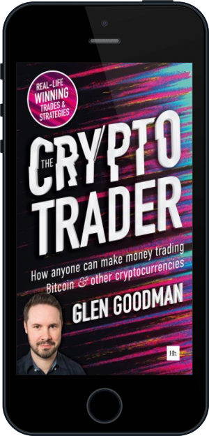 Cover of The Crypto Trader on Mobile by Glen Goodman