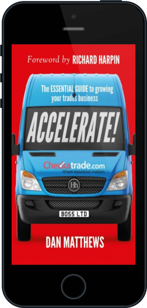 Cover of Accelerate! on Mobile by Dan Matthews