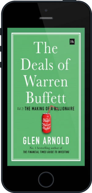 Cover of The Deals of Warren Buffett Volume 2 on Mobile by Glen Arnold