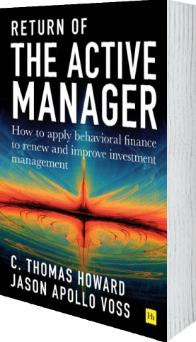 Cover of Return of the Active Manager (Hardback) by C. Thomas Howard and Jason A. Voss