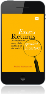 Cover of Excess Returns on Mobile by Frederik Vanhaverbeke