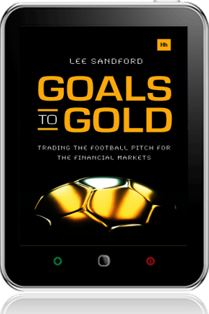 Cover of Goals to Gold on Tablet by Lee Sandford