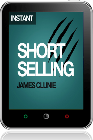 Cover of Short Selling on Tablet by James Clunie