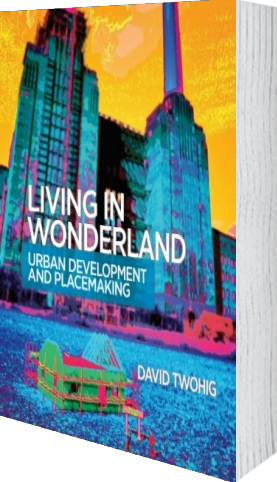 Cover of Living in Wonderland (Paperback) by David Twohig