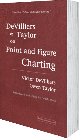 Cover of DeVilliers and Taylor on Point and Figure Charting by Victor DeVilliers andOwen Taylor