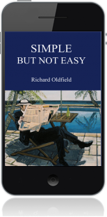 Cover of Simple But Not Easy on Mobile by Richard Oldfield