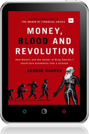 Cover of Money, Blood and Revolution on Tablet by George Cooper
