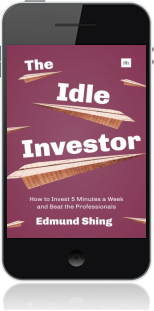 Cover of The Idle Investor on Mobile by Edmund Shing
