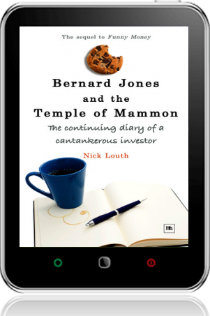 Cover of Bernard Jones and the Temple of Mammon on Tablet by Nick Louth