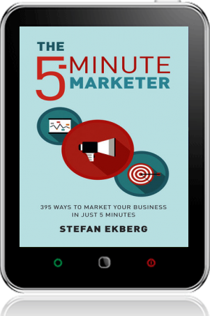 Cover of The 5-Minute Marketer (Tablet)