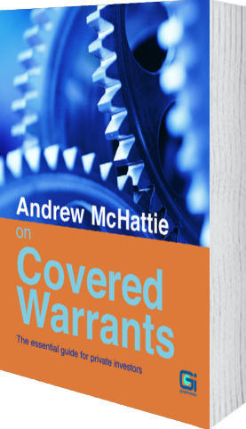 Cover of Andrew McHattie on Covered Warrants by Andrew McHattie