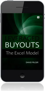 Cover of Leveraged Buyouts Excel Model on Mobile by David Pilger