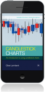 Cover of Candlestick Charts on Mobile by Clive Lambert