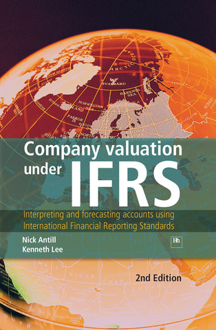 Cover of Company valuation under IFRS by Nick Antill andKenneth Lee