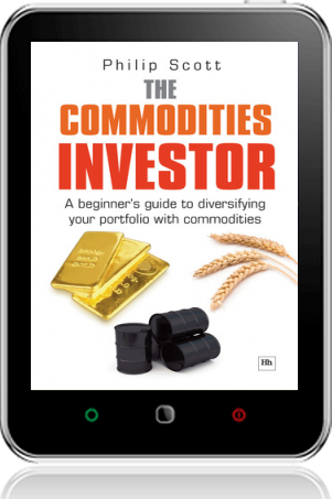 Cover of The Commodities Investor on Tablet by Philip Scott