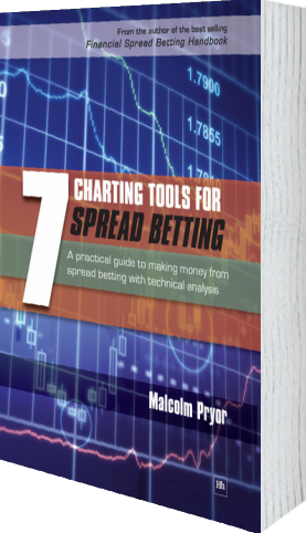 Cover of 7 Charting Tools for Spread Betting (Paperback) by Malcolm Pryor